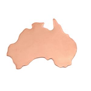 Metal Stamping Blanks Copper Australia Blank, 24g