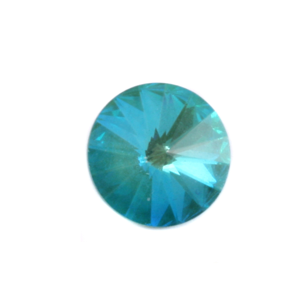 Crystals & Beads Swarovski Crystal Rivoli - Ultra Emerald AB 14mm