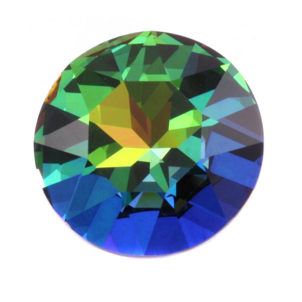Crystals & Beads Swarovski Crystal - Green Sphinx 27mm