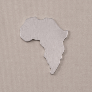 Metal Stamping Blanks Aluminum Africa Blank, 18g