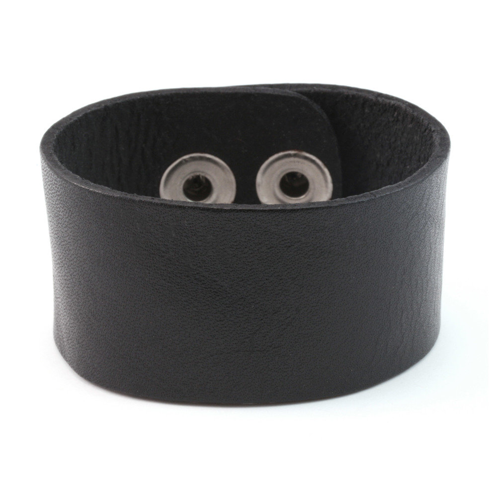 71a30a94b09d5 Stampable Leather Cuff Bracelet 1 1/4