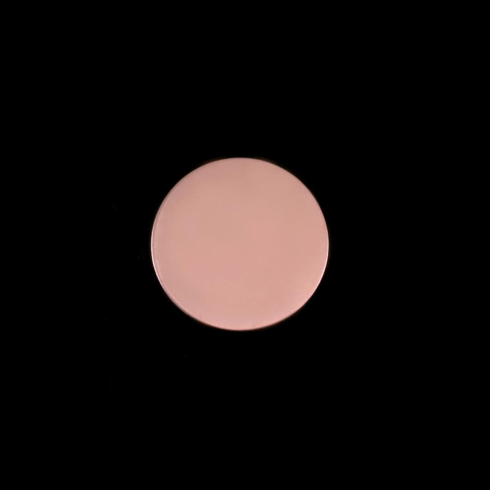 """Metal Stamping Blanks Rose Gold Filled Circle, 13mm, (.51""""), 24g"""