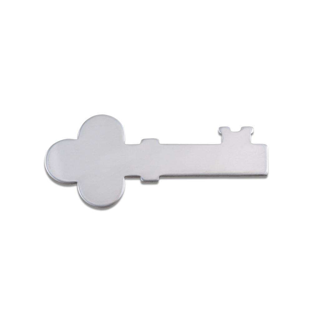 Metal Stamping Blanks Aluminum Solid Key, 18g