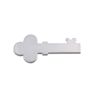 Metal Stamping Blanks Aluminum Solid Key, 18g