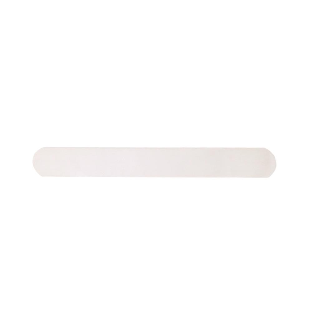 "Metal Stamping Blanks Sterling Silver 1.5"" Slender Rectangle Bar, 19g"