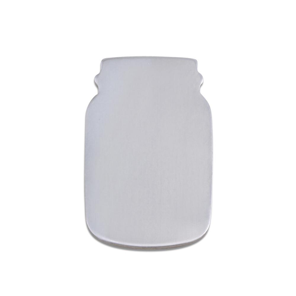 Metal Stamping Blanks Aluminum Mason Jar, 18g