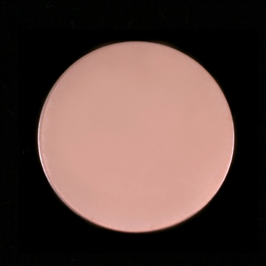 """Metal Stamping Blanks Rose Gold Filled Circle, 22mm, (.87""""), 24g"""