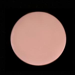 """Metal Stamping Blanks Rose Gold Filled Circle, 7/8"""" (22mm), 24g"""