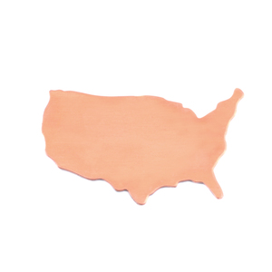 Metal Stamping Blanks Copper United States Blank, 24g
