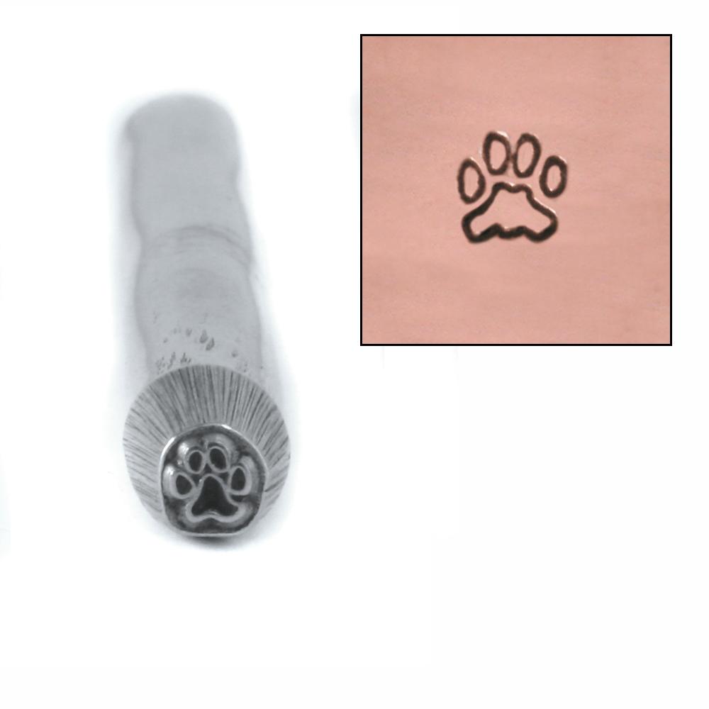 Metal Stamping Tools Mini Paw Design Stamp 3mm
