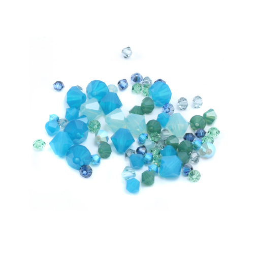 Crystals & Beads Ocean Waves Crystal Mix