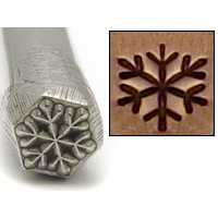 Metal Stamping Tools Snowflake Design Stamp