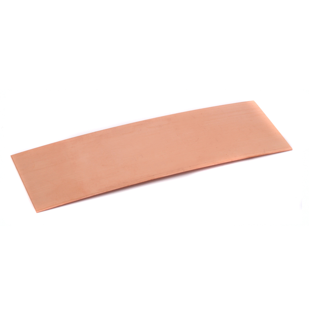 "Metal Stamping Blanks Copper Bracelet Blank, 152mm (6"") x 51mm (2""), 18g"