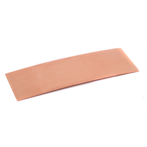 "Metal Stamping Blanks Copper Bracelet Blank, 6"" Long, 2"" Wide 18g"