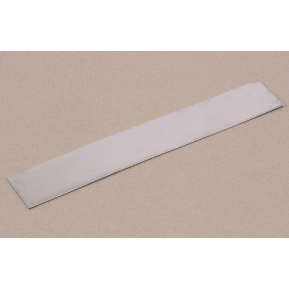"Metal Stamping Blanks Aluminum Bracelet or Bookmark Blank, 152mm (6"") x 25.4mm (1""), 20 Gauge"