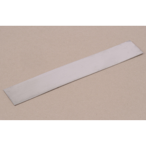 "Metal Stamping Blanks Aluminum Strip or Bookmark Blank, 152mm (6"") x 25.4mm (1""), 20 Gauge"