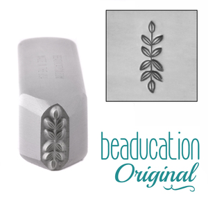 Metal Stamping Tools Symmetrical Branch Border Metal Design Stamp-Beaducation Original
