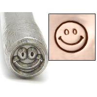 Metal Stamping Tools Smiley Face Design Stamp