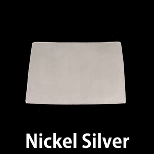 Metal Stamping Blanks Nickel Silver Colorado/Wyoming State Blank, 24g