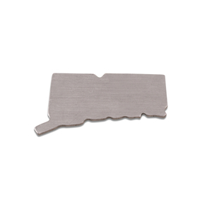 Metal Stamping Blanks Aluminum Connecticut State Blank, 18g