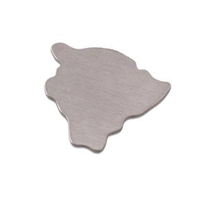 Metal Stamping Blanks Aluminum Hawaii (Big Island) State Blank, 18g