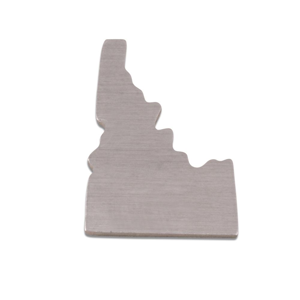 Metal Stamping Blanks Aluminum Idaho State Blank, 18g