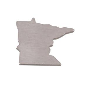 Metal Stamping Blanks Aluminum Minnesota State Blank, 18g