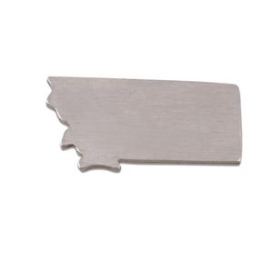 Metal Stamping Blanks Aluminum Montana State Blank, 18g