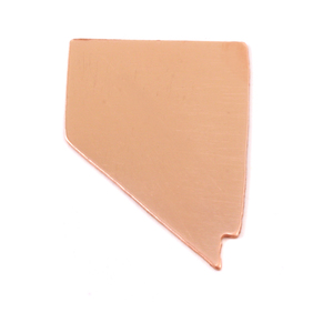 Metal Stamping Blanks Copper Nevada State Blank, 24g