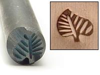 Metal Stamping Tools Tropical Leaf Design Stamp