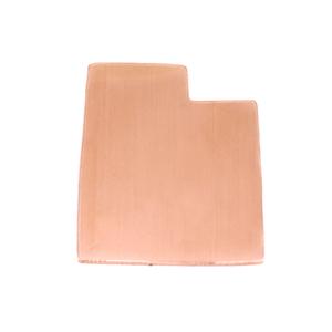Metal Stamping Blanks Copper Utah State Blank, 24g