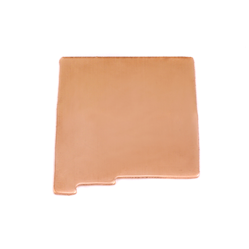 Metal Stamping Blanks Copper New Mexico State Blank, 24g