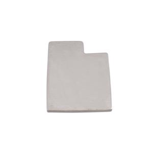 Metal Stamping Blanks Aluminum Utah State Blank, 18g