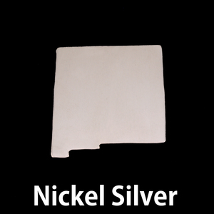 Metal Stamping Blanks Nickel Silver New Mexico State Blank, 24g