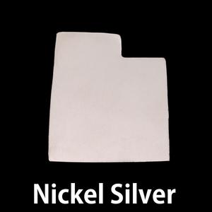 Metal Stamping Blanks Nickel Silver Utah State Blank, 24g