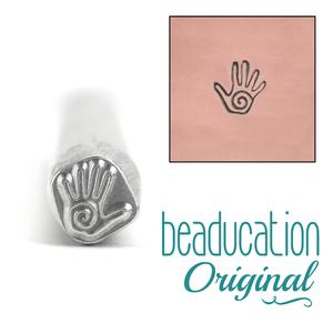 Metal Stamping Tools Spiral Hand Metal Design Stamp - Beaducation Original