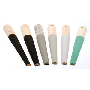 Jewelry Making Tools Half Round Sanding Sticks, Set of 6