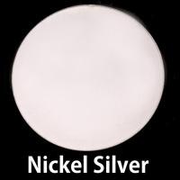 """Metal Stamping Blanks Nickel Silver Circle, 38mm (1.50""""), 20g"""