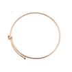 Gold Plated Expandable Charm Bracelet
