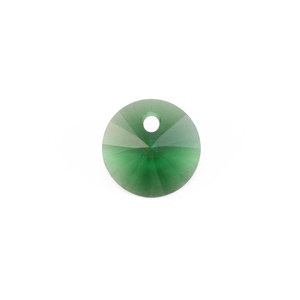 Crystals & Beads Swarovski Xilion Round Crystal  (Emerald/Dark Moss Green - MAY)