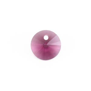 Crystals & Beads Swarovski Xilion Round Crystal (Amethyst - FEBRUARY)