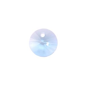 Crystals & Beads Swarovski Xilion Round Crystal (Blue Zircon/Lt Turq - DECEMBER)