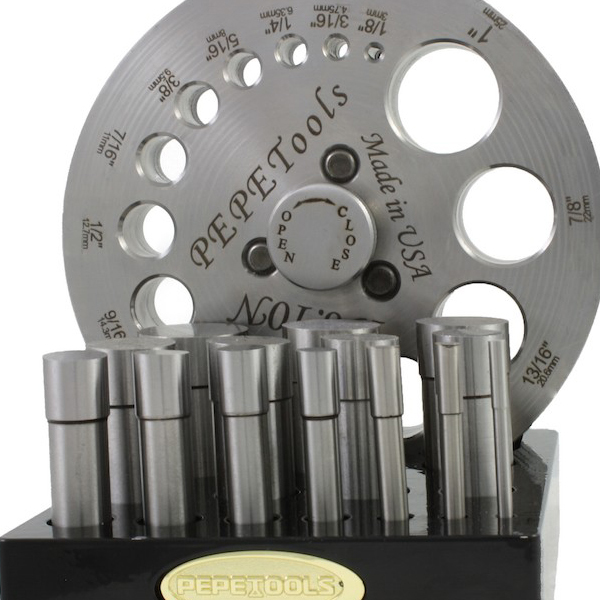 Jewelry Making Tools 14-Hole Disc Cutter - Pepetools
