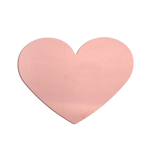 "Metal Stamping Blanks Copper Huge 2.25"" Classic Heart"