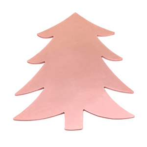 "Metal Stamping Blanks Copper Tree Ornament  Blank, 58.4mm (2.3"") x 51.4mm (2.04""), 24g"