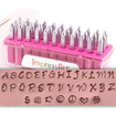 ImpressArt Bridgette Uppercase Letter Set 3mm