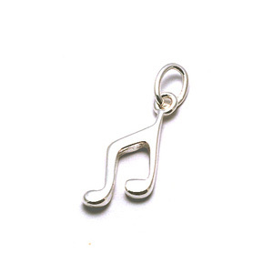 Charms & Solderable Accents Sterling Silver Music Notes Charms