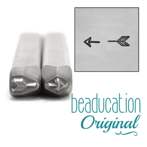 Metal Stamping Tools Broken Arrow Metal Design Stamps, 4.5mm & 3.5mm - Beaducation Original