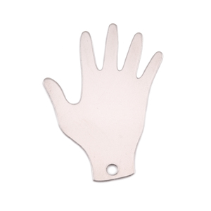 Metal Stamping Blanks Nickel Silver Hand Blank, 24g