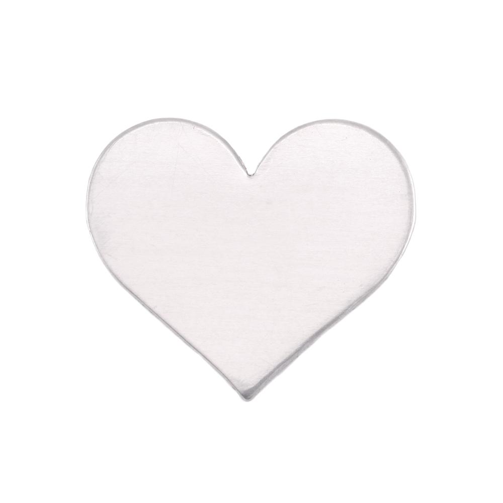 Metal Stamping Blanks Aluminum Medium Classic Heart, 18g